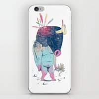 Mr.Minotaur iPhone & iPod Skin
