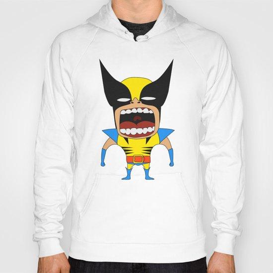 Screaming Wolverine Hoody