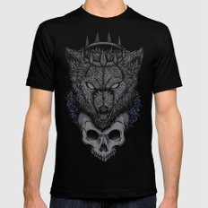 The North Remembers Mens Fitted Tee Black SMALL