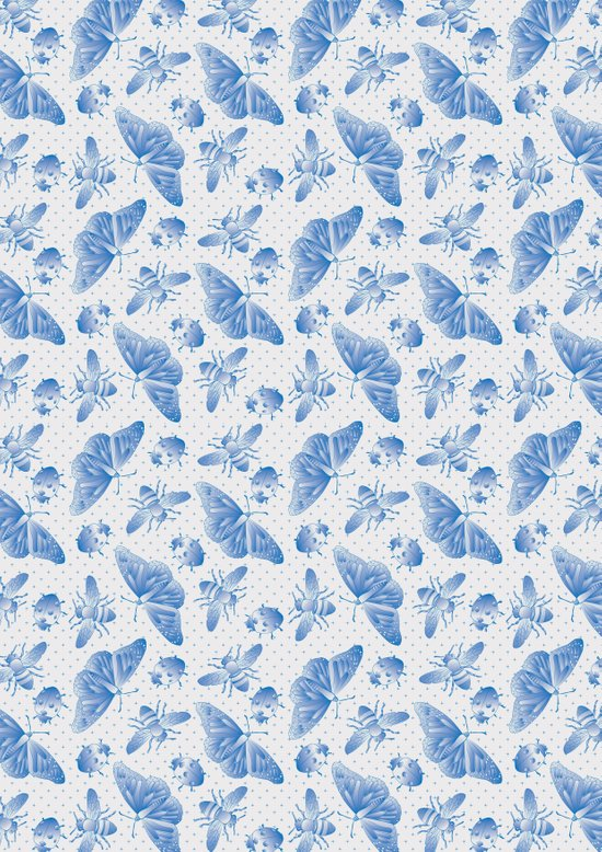 Insect Pattern Art Print