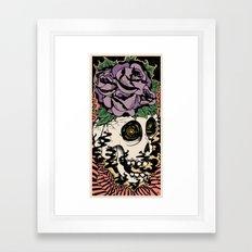 Bad Acid Framed Art Print
