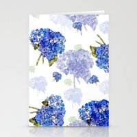 Hydrangea Nosegays Stationery Cards