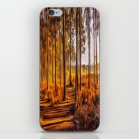My World Your World iPhone & iPod Skin