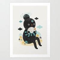 We are inseparable! Art Print