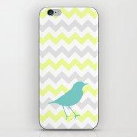 Chevron & On & On iPhone & iPod Skin