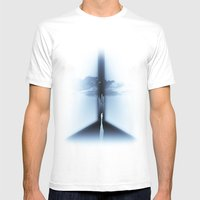 Heaven Mens Fitted Tee White SMALL