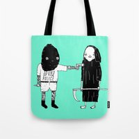 Rob Death Tote Bag