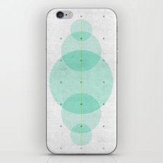 Concrete and Circle Abstract iPhone & iPod Skin