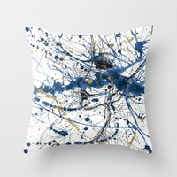 Sometimes At Night, I Sl… Throw Pillow