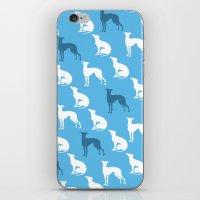 Greyhound Dogs Pattern O… iPhone & iPod Skin