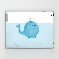 The Enigmatic Pudding Whale Laptop & iPad Skin