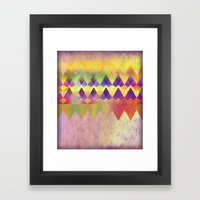 Camping Dreams Framed Art Print
