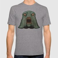 Swamp Alien Mens Fitted Tee Athletic Grey SMALL