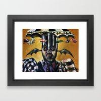 The Ghost With The Most Framed Art Print