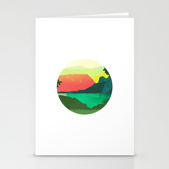 Circlescape Stationery Card