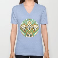 Golden Nature Mandala Unisex V-Neck