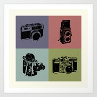 Cam Love Art Print
