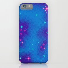 Indigo Nebula (8bit) Slim Case iPhone 6s