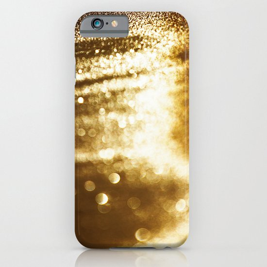 spun gold iPhone & iPod Case