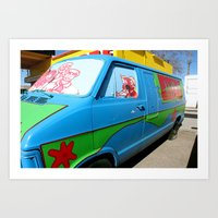 Mystery Machine 2 Art Print