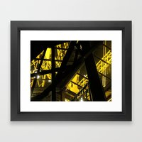 Inside The Tower I Framed Art Print
