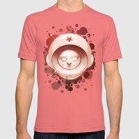 Hall, Can You Hear Me? Mens Fitted Tee Pomegranate SMALL