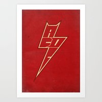 AC/DC ARROW Art Print