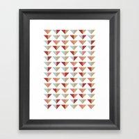 Tribico Framed Art Print