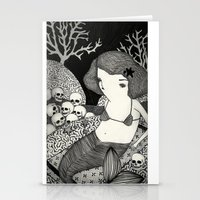 Bitter Mermaid Stationery Cards