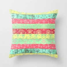 Lily & Lotus Layers In M… Throw Pillow