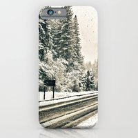 Yosemite Snowy Meadow iPhone 6 Slim Case