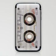 Cassette Transparent iPhone & iPod Skin