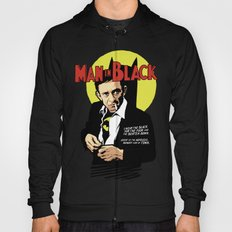 Man in Black Hoody
