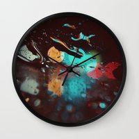 Night Visions Wall Clock