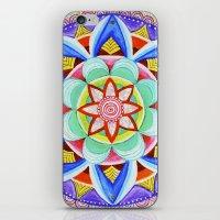 'We Are One' Mandala iPhone & iPod Skin