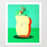 Apple Art Print