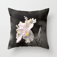 Flecks Of Colour Throw Pillow