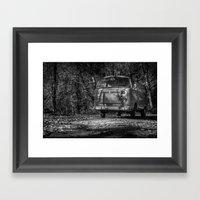 VwT2-n.11 Framed Art Print