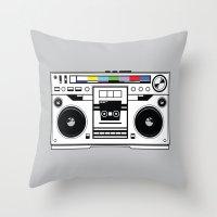 1 kHz #1 Throw Pillow