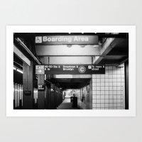 Brooklyn & Uptown Art Print