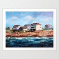 Outer Banks Art Print