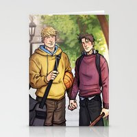 Theodore And William 16 Stationery Cards