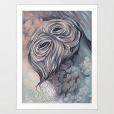 Demon (anxiety) Art Print
