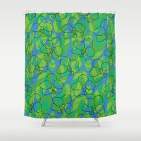 Tropic orchid Shower Curtain