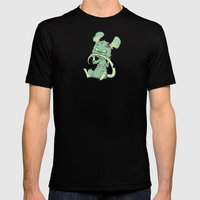 Zombie Mouse Mens Fitted Tee Black SMALL