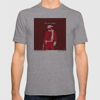 No184 My Django Unchaine… Mens Fitted Tee Athletic Grey SMALL