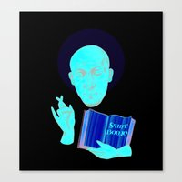 Saint Bonjo Canvas Print