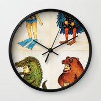 Costumes - Animalados Wall Clock