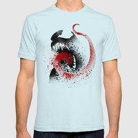 The Symbiote Mens Fitted Tee Light Blue SMALL