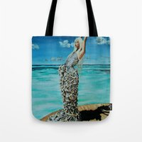 THE MCQUEEN MERMAID Tote Bag